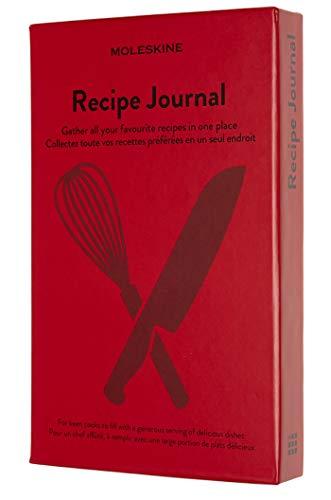 Moleskine Rezept Notizbuch, (Themen-/ Hardcover Notizbuch zum Sammeln und Organisieren Ihrer Rezepte, 13 x 21 cm, 400 Seiten) - 1