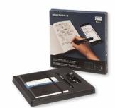 Moleskine Smart Writing Set Paper Tablet Notizbuch und Pen+ Smartpen (Smart Notizbuch Paper Tablet geeignet für die Verwendung mit Moleskine Pen+, gepunktet, Large 13 x 21cm) schwarz - 1