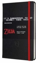 Moleskine - The Legend of Zelda Thematisches Notizbuch in limitierter Auflage, Schwert Edition, Linierte Seiten, Hardcover und thematische Grafiken, Größe 13 x 21 cm, 240 Seiten - 1