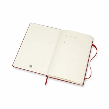 Moleskine Wochen Notizkalender, Taschenkalender, 12 Monate, 2020, Large, A5, Hard Cover, Scharlachrot - 3