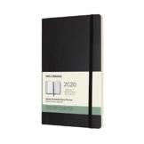 Moleskine Wochen Notizkalender, Taschenkalender, 12 Monate, 2020, Large, A5, Soft Cover, Schwarz - 1