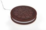 Monsterzeug Hot Cookie - Tassenwärmer, Mini USB Heizplatte für Kaffeebecher, Kaffeewärmer im Keks-Design, Warmhalteplatte für Teetassen - 1