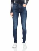 ONLY Damen onlPAOLA HW SK DNM AZGZ878 NOOS Skinny Jeans, Blau (Dark Blue Denim), W31/L32 (Herstellergröße: L) - 1