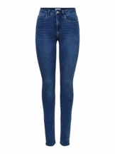 ONLY Female Skinny Fit Jeans ONLRoyal High Waist M30Medium Blue Denim - 1
