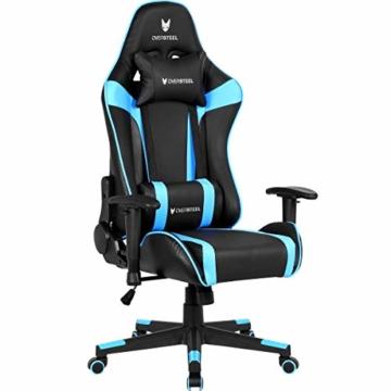 Oversteel ULTIMET - Professioneller Gaming-Sessel, Blau - 1