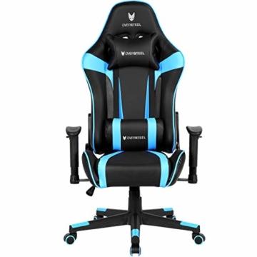 Oversteel ULTIMET - Professioneller Gaming-Sessel, Blau - 3