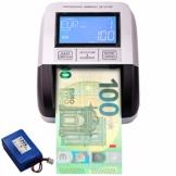 Professioneller Falschgeld Prüfgerät. Geldscheinprüfer Von der EZB getestet. Falschgelddetektor EURO GBP PLN CHF SEK Banknotenzähler 100% der gefälschten Banknoten werden mit 6 Analysen - 1