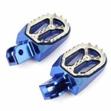 Qqmora Personalisierte Anti-Schock-Pedale Anti-Fall-Fußstütze für Komfortables Fahren für Protector for Scooter für den Urlaub - 1