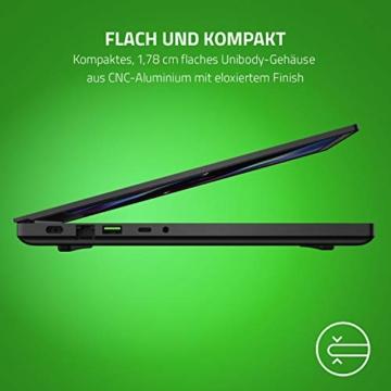 Razer Blade 15 Gaming Laptop 2020: 15,6 Zoll Full HD 144Hz Basis Modell, Intel Core i7 10th Gen, NVIDIA GeForce RTX 2060, 16GB RAM, 512GB SSD, Chroma RGB Beleuchtung | Qwertz DE-Layout - 7