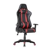 SVITA Gaming Stuhl Schreibtischstuhl Bürostuhl Drehstuhl Schreibtisch (Rot) - 1