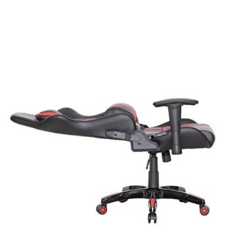 SVITA Gaming Stuhl Schreibtischstuhl Bürostuhl Drehstuhl Schreibtisch (Rot) - 2