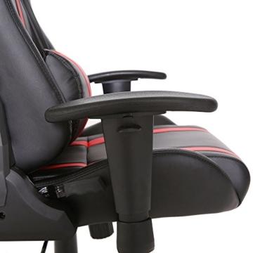 SVITA Gaming Stuhl Schreibtischstuhl Bürostuhl Drehstuhl Schreibtisch (Rot) - 8