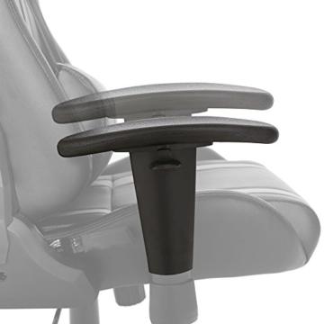SVITA Gaming Stuhl Schreibtischstuhl Bürostuhl Drehstuhl Schreibtisch (Rot) - 9