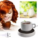 Tassenwärmer,Kaffeewärmer,Elektrischer Getränkewärmer,Getränkewärmer mit zwei Temperatureinstellungen Platte für Kaffee, Milch, Tee, Wasser - Ideales Geschenk für Kaffeeliebhaber - 1