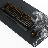 Titanwolf Gaming Set - mechanische Tastatur ALUMAR MMO 10800dpi Gaming Maus Specialist XXL Mauspad - Mechanical Keyboard - Anti-Ghosting - LED Backlight - 19 Lichtmodi - Makro-Modus - 1