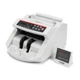 TravelerK Geldzählmaschine Geldzähler Geldscheinzähler mit LED Display Echtheitprüfung Banknotenzähler mit UV und MG Systeme für Banknoten & Geldscheine Euro Doller Pound - 1