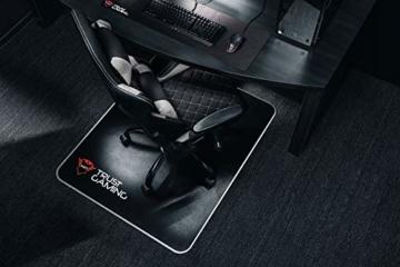 Trust Gaming GXT 707G Resto Gaming Stuhl Bürostuhl (Ergonomisch mit Höhenverstellbare Armlehnen) Grau - 3