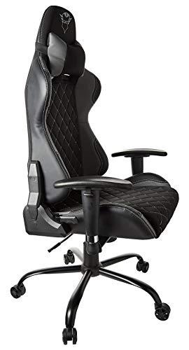 Trust Gaming GXT 707G Resto Gaming Stuhl Bürostuhl (Ergonomisch mit Höhenverstellbare Armlehnen) Grau - 5