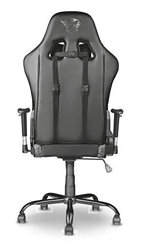 Trust Gaming GXT 707G Resto Gaming Stuhl Bürostuhl (Ergonomisch mit Höhenverstellbare Armlehnen) Grau - 7