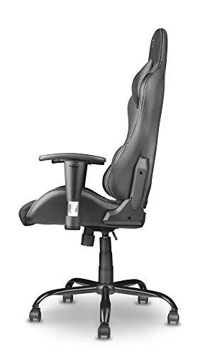 Trust Gaming GXT 707G Resto Gaming Stuhl Bürostuhl (Ergonomisch mit Höhenverstellbare Armlehnen) Grau - 8