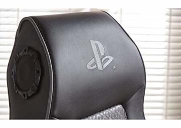 X Rocker Sony Infiniti Gaming Stuhl mit 4.1 Wireless Audio System und Subwoofer-Schwarz, Kunstleder, Normal - 2