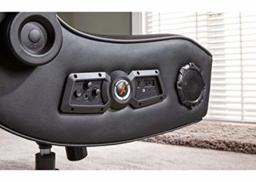 X Rocker Sony Infiniti Gaming Stuhl mit 4.1 Wireless Audio System und Subwoofer-Schwarz, Kunstleder, Normal - 5