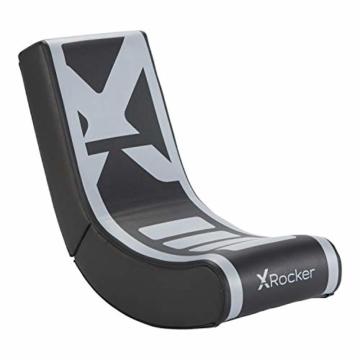 X Rocker Video Rocker V2 - Floor Rocker Gaming Stuhl | Silver - 1