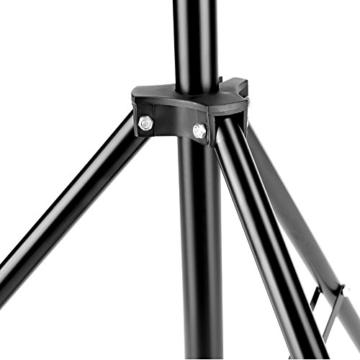 Neewer 190cm Beleuchtung Unterstützung Fotografie für Reflektor, Softbox, Licht, Regenschirm und Hintergrund - 5