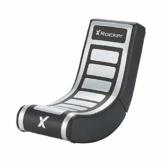 X Rocker Video Rocker V2 - Floor Rocker Gaming Stuhl - Schwarz/Grau - 1