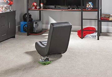 X Rocker Video Rocker V2 - Floor Rocker Gaming Stuhl - Schwarz/Grau - 16