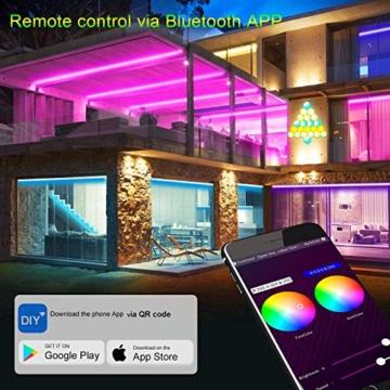 Sechseck Wandleuchte, Smart LED Licht Wandpanel APP Steuerung Musik Sync,16 Millionen Farben Modulares Licht RGB Nachtlicht DIY Geometrie Spleißen Quantum Leuchte für Zuhause Bar Wand Dekor, 6 Stück - 2